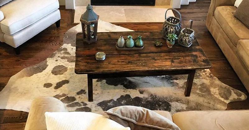 modern cowhide rugs